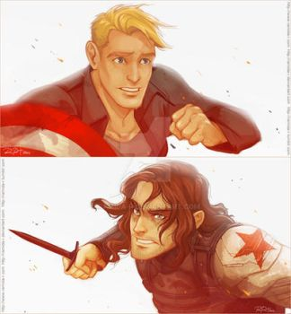 Who the Hell Is Bucky? by ramida-r