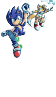 W.I.P.: Sonic: by Lavenkitty