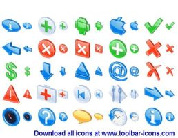 3D Glossy Icons by Iconoman