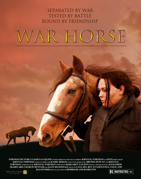 War Horse Poster Remake by KrystalVioletDesigns