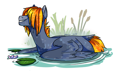 Turaco Tinder - ARTfight by Deltalix