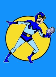 Blue Beetle remastered by AlanSchell