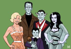 The Munsters by b-maze
