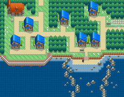 Pokemon BW3: Nuvema Town by Midnitez-REMIX