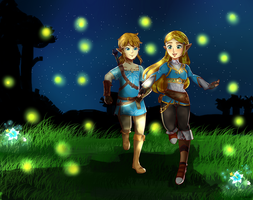 Fireflies by TeLinkfan1