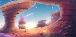 Concept Art: Desert Land by ESPj-o