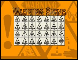 Warning signs by crimecontrol