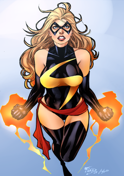 Ms Marvel by Sorathepanda