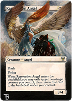 Restoration angel #2 - Alter art by TomGreystone