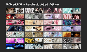 IRON ARTIST - Aesthetic Edition 2 (CLOSED) by cindyjeans-designs