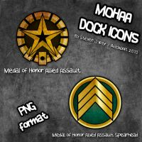 Medal of Honor AA Dock Icons by Blackbolt