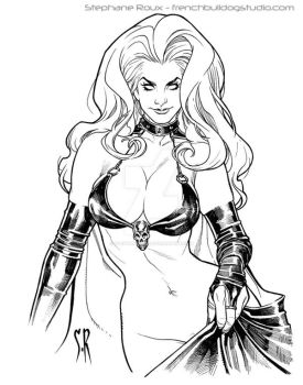Lady Death Or Bust by StephaneRoux