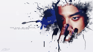 KYUNGSOO|WALLPAPER|MONSTER by EXOEDITIONS