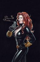 Black Widow - WC Finish by edtadeo