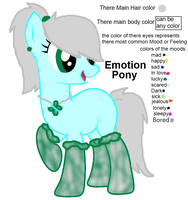 New species: Emotion Pony by JewelThePonyLover12