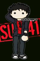 Deryck Whibley - Sum 41 by NickyToons