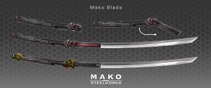 Commission: Mako Blade by aiyeahhs