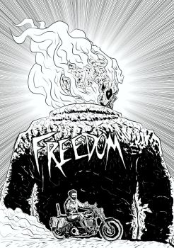 Ghost Rider Poster by azzh316