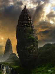 Temples of Alamast 2 by Alegion