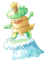 Collab: Ludicolo Used Surf!