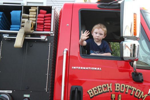 boy in the fire truck by TukikoKinikia