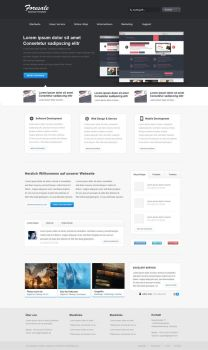 Foresale new PSD - Template by iKyroja