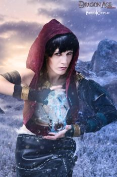 Morrigan from Dragon Age Origins by IsilielCosplay