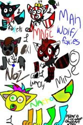 OH MY GOD Character Small Reffie Thingy by Alitario-Le-Wolf
