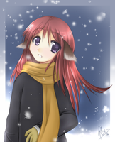 :: In the Snow :: by Risuko
