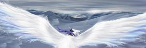 Flying on ice wings by cynthi-dm