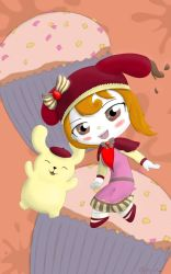 Commission: Drippy-Cocoa  Pompompurin by Ninja--7