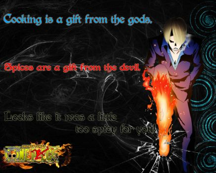 Sanji Quote #1 by watercan52