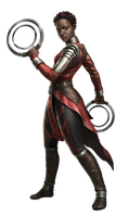 Black Panther Nakia PNG by Metropolis-Hero1125