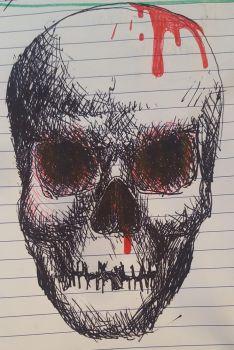 Skull Sketch by Subtorch
