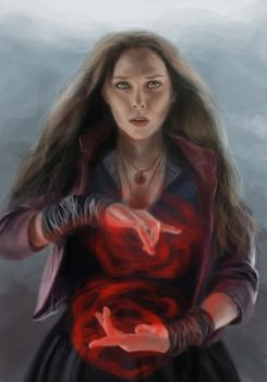 Scarlet Witch by QuintessantRiver