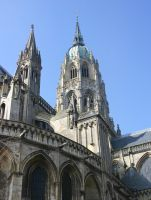 Cathedral of Bayeux (2) by UdoChristmann