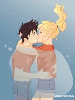 the best underwater kiss ever by noori18