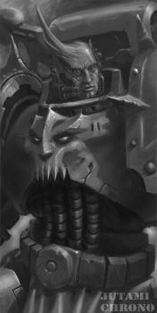 Chaos Space Marine by Jutami