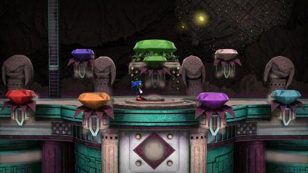 Sonic Hidden Palace Zone by exojamesm