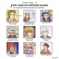 Expressions Challenge by Frey-ofthe-Arcane