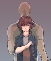 Carl and Shane by chibikko1000