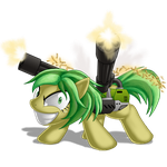 Every Time You Clop, Ellie Shoots a Muffin. by BerryPAWNCH