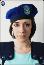 Jill Valentine - ID card photo by lelechan16