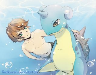 underwater fun by RedKyuren