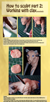 Sculpting tutorial part 2 of 2 by mangakasan