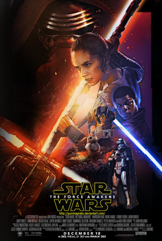 Star wars:The Force Awakens redesign fanmade by punmagneto