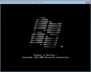 MinWin Boot for XP TuneUP by RaulWindows