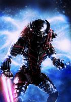 Star Wars - Sith Predator (with helmet) by Robert-Shane