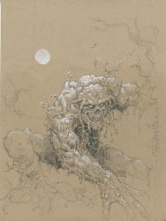 Swamp Thing by rattlesnapper