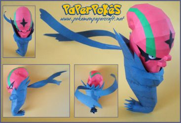 Accelgor Papercraft by Carnilmo